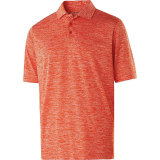 Holloway Men's Electrify 2.0 Polo Orange Heather