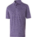 Holloway Men's Electrify 2.0 Polo Purple Heather