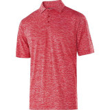 Holloway Men's Electrify 2.0 Polo Scarlet Heather
