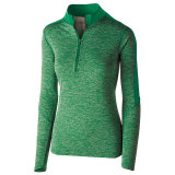 Holloway Women's Electrify 1/2 Zip Pullover Kelly Heather/Kelly