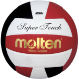 Molten Super Touch IV58L Volleyball Black/White/Red