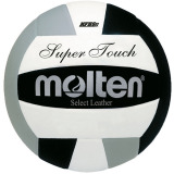 Molten Super Touch IV58L Volleyball Black/White/Silver