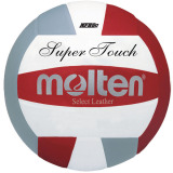 Molten Super Touch IV58L Volleyball Red/White/Silver