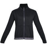 Under Armour Women's HeatGear Armour Full Zip Black