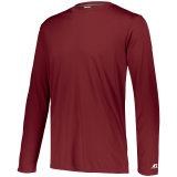 Russell Men's Dri-Power Core Performance Long Sleeve Tee Cardinal