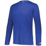Russell Men's Dri-Power Core Performance Long Sleeve Tee Royal