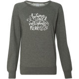 Autumn Leaves Volleyball Please Sweatshirt
