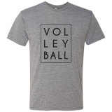 Volleyball Stacked Graphic T-Shirt