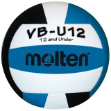 Molten Lightweight VB-U12 Volleyball Black/White/Aqua