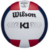 Wilson K1 Silver Volleyball Red/White/Navy