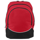 Augusta Large Tri-Color Backpack Red