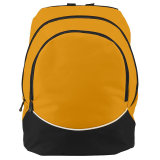 Augusta Large Tri-Color Backpack Gold