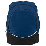 Augusta Large Tri-Color Backpack Navy
