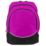 Augusta Large Tri-Color Backpack Power Pink