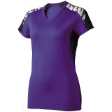 High Five Women's Atomic Short Sleeve Jersey Purple/Black