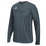 Adidas Men's Climacool Utility Long Sleeve Jersey Onix