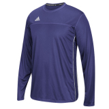 Adidas Men's Climacool Utility Long Sleeve Jersey Purple