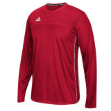 Adidas Men's Climacool Utility Long Sleeve Jersey Red