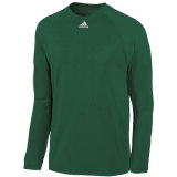 Adidas Men's Climalite Long Sleeve Jersey Forest