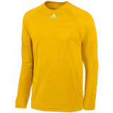 Adidas Men's Climalite Long Sleeve Jersey Gold