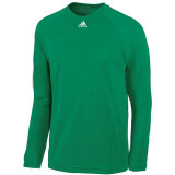 Adidas Men's Climalite Long Sleeve Jersey Green