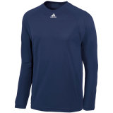 Adidas Men's Climalite Long Sleeve Jersey Navy