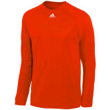 Adidas Men's Climalite Long Sleeve Jersey Orange