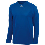 Adidas Men's Climalite Long Sleeve Jersey Royal