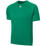Adidas Men's Climalite Short Sleeve Jersey Green