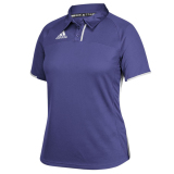 Adidas Women's Climacool Utility Polo Purple