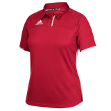 Adidas Women's Climacool Utility Polo Red