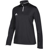 Adidas Women's Iconic 1/4 Zip Black