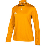Adidas Women's Iconic 1/4 Zip Gold