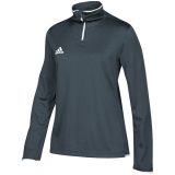 Adidas Women's Iconic 1/4 Zip Onix