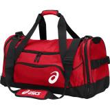 ASICS Edge II Medium Duffel Bag Red