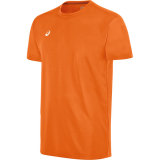 ASICS Men's Circuit 8 Short Sleeve Jersey Neon Orange