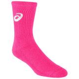 ASICS Neon Crew Socks - Pink Glo