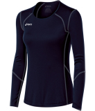 ASICS Women's Volleycross Long Sleeve Jersey Navy