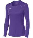 ASICS Women's Volleycross Long Sleeve Jersey Purple