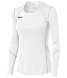 ASICS Women's Volleycross Long Sleeve Jersey White