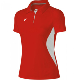 ASICS Women's PR2517 Corp Polo Red