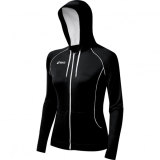 ASICS Women's YT1281 Alana Jacket - Black/White