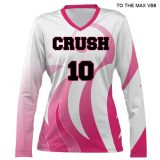 Asics Women's VBS300 (Custom / Sublimated) Long Sleeve Jersey