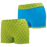 Lime Plexus Print/Power Blue