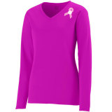 Augusta Women's Force Jersey - Pink Ribbon Power Pink