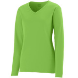 Augusta Women's Force Jersey Lime