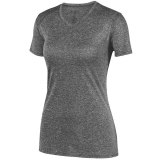 AU2805 Women's Kinergy Heathered Jersey