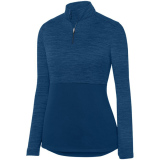 Augusta Women's Shadow 1/4 Zip Pullover Navy