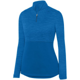 Augusta Women's Shadow 1/4 Zip Pullover Royal