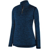 Augusta Women's Intensify 1/4 Zip Pullover Navy